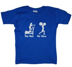 Awesome Crossfit shirt for kids