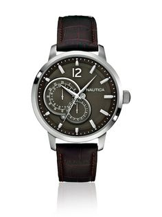 Nautica Reloj con movimiento cuarzo japonés Man Nct 15 Multi A15048G 44 mm en Amazon BuyVIP