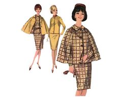 Simplicity 5669 Smashing Vintage 60s Slim Skirt by PatternPlaying, $16.00