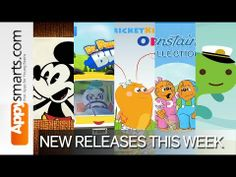 New this week: Mickey Mouse: Mash-Up,Dr Panda's Bus Driver, Cricket Kids + 3 more cool apps! - YouTube