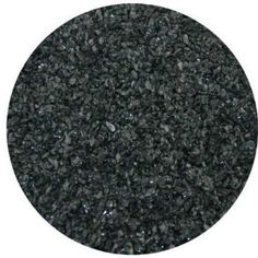 Dark Gray Opalescent Fine Frit 4oz 96COE Made from System 96 Glass