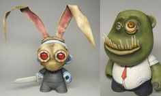 STREETS OF BEIGE: Custom toys by Infinite Rabbits