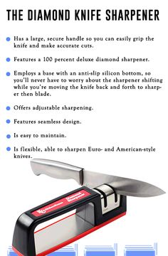 New technology in knife sharpening.