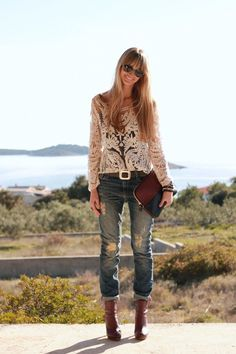 Boyfriend jeans o ripped jeans, nueva tendencia | shinyhappythingss