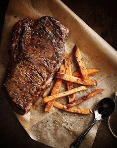 Steak & fries.