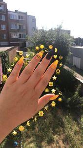 Feb 2020 - yellow nails short \\ yellow nails - yellow nails acrylic - yellow nails design - yellow nails short - yellow nails coffin - yellow nails acrylic coffin - yellow nails with glitter - yellow nails acrylic short Acrylic Nails Yellow, Simple Acrylic Nails, Yellow Nail Art, Metallic Nail Polish, Summer Acrylic Nails, Best Acrylic Nails, Acrylic Nail Designs, Color Yellow, Summer Nails