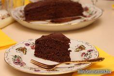 Csupa csoki torta - cukor, liszt és tejtermékek nélkül
