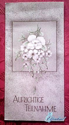 Elfenkind-Katrin Kondolenzkarte