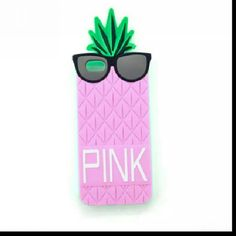 3d Glasses Pineapple Design Silicone Soft Case For