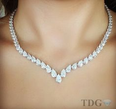 40 Ct Pear Shape Diamond Tennis Necklace White Gold Solid Silver Studded Women Jewelry Wedding Engagement Valentine's Day,New Year Sale - Beautiful 40 Ct Pear Shape Diamond Tennis Necklace White Gold Solid Sterling Silver Studded Wom - Diamond Necklace Simple, Diamond Tennis Necklace, Diamond Jewelry, Diamond Necklaces, White Gold Jewelry, Pear Shaped Diamond, Diamond Cuts, Fashion Jewelry, Women Jewelry