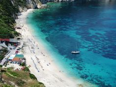 Petani beach Kephalonia,Ionio, Greece