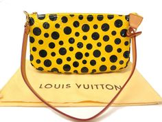 Louis #Vuitton Pochette Accessoires Hand bag (#YAYOI KUSAMA) M91426(BF062225). Was $895 now $825 http://global.elady.com