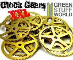 MECANISMES MONTRE XXL Rouages et Engrenages par GreenStuffWorld
