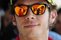 Valentino Rossi, the GP rider,from Tavullia, Pesaro province
