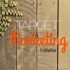 Target Marketing Target Customer Marketing for by craftadian Book Outline, Target Customer, Canadian Artists, Step Guide, Worksheets, Etsy Shop, Marketing, Writing, Learning