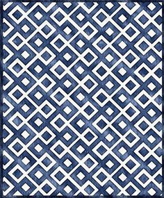 Custom Cool Rugs - Blue