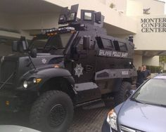 BREAKING: Obama Administration to Distribute 13,000 Armored Mine-Resistant Vehicles to Police Units Around the US