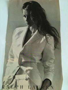 Gisele Bundchen in Ralph Lauren ad
