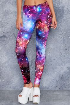 Galaxy Amethyst Leggings
