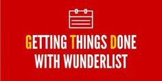 Getting Things Done in Wunderlist