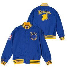 Golden State Warriors Mitchell  amp  Ness Nothing But Net  The City  Warm Up be4088285