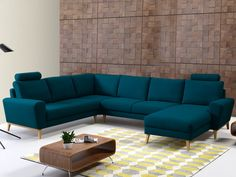 Canapé VISBY n°8 Living Room Colors, Living Room Modern, Living Room Sofa, Apartment Living, Living Room Decor, Sofa Design, Center Table Living Room, Angles, Home Theater Design