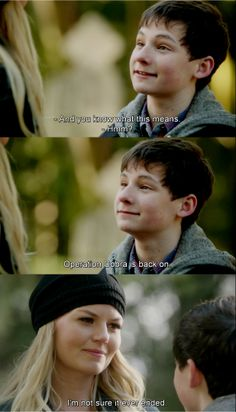 I loved this part sooooooo much, because it just reinforced the fact that Henry is back. He's reallllly back!!!!!!:)
