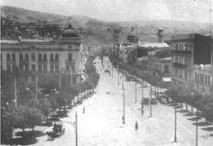 Avda. Pedro Montt - Parque Italia,                 Fuente:  Imágenes de Chile del 1900