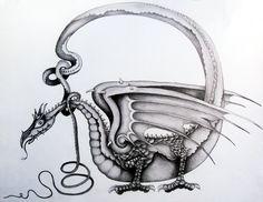 Dragon (1) by ~clvmoore on deviantART