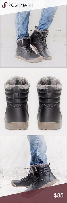 NEW Mens SASHA Waterproof Fur Ankle Boots NEW Mens SASHA Waterproof Fur Ankle Boots / High Top Sneakers by Moda  Be Warm and Dry During the Winter Season With the New Waterproof Fur Ankle Boots from Moda Shoe Box  Key Features: Waterproof PU Leather and Cloth Unique Waterproof Function Fully Thick Faux Fur Lining Thick Non-Slip Rubber Outsole  Like us on Facebook! Link in bio @modabyboutique Moda Boutique SF Moda Shoe Box Shoes Boots
