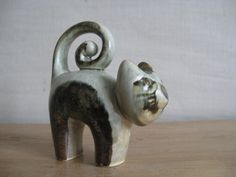 Søholm Denmark  CAT figurine  1970s  collectible by danishmood