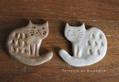 To know more about Reinette et Mirabelleの部屋 陶器 猫ブローチ, visit Sumally, a social network that gathers together all the wanted things in the world! Featuring over 6 other Reinette et Mirabelleの部屋 items too! Ceramic Tableware, Ceramic Clay, Ceramic Pottery, Polymer Clay Crafts, Diy Clay, Polymer Clay Jewelry, Animal Gato, Clay Cats, Paperclay