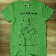 Fab.com | Thesaurus Tee Green