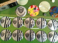 Futebol de botão personalizado do Atlético Mineiro 2