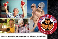 En Sweat Gym la edad no cuenta #Salud #Nutrición #Cardio #Musculacion #Culturismo #Fitness #Gym #ComeSano #SweatGym #SoySweatGym #TerritorioSweatGym #MrSweat #SweatGymxVenezuela #ejercicio #fisicoculturismo #vejez