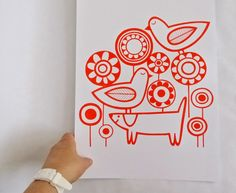 New Playtime Screen Print by Jane Foster - Jane Foster Blog