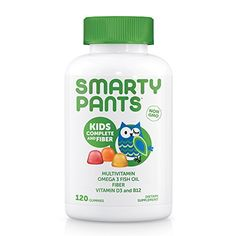 SmartyPants Kids Complete and Fiber is more than a multivitamin. We're the galaxy's best tasting gummy vitamin with vitamin D3, 4 g prebiotic fiber, and omega 3 fish oil – all in one. We use premium nutrients and include the forms of these nutrients that are easily absorbed by the body whenever p... more details at http://supplements.occupationalhealthandsafetyprofessionals.com/vitamins/multi-prenatal-vitamins/multivitamins/product-review-for-smartypants-kids-complete-f