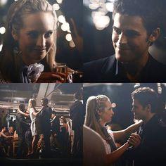 Primeira dança. ❤ Steroline  #TheVampireDiaries #Tvd #CandiceAccola #CarolineForbes #Steroline #PaulWesley #StefanSalvatore #WesCola @craccola @paulvedere