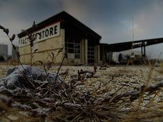 Abandoned Gas Station 12.21.2005 by Notley Hawkins    Post Apocalyptic World