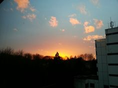 Sonnenuntergang in Lütgendortmund
