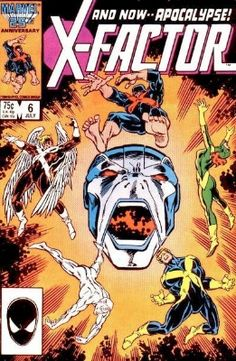 Top 20 Hot Comics #1: X-Factor #6. First Full Appearance of Apocalypse. Click to get yours!
