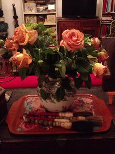 Orange  - love orange Vase, Orange, Plants, Photography, Home Decor, Photograph, Decoration Home, Room Decor, Flower Vases