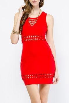 Cutout Knit Bodycon Dress $24.99