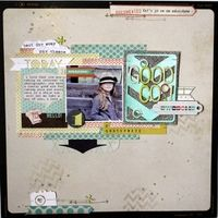 A Project by MelBlackburn from our Scrapbooking Gallery originally submitted 08/02/13 at 09:31 AM