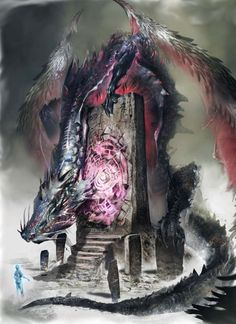 Yamarajes Psychopomp guarding gate - Pathfinder PFRPG DND D&D 3.5 5th ed d20 fantasy