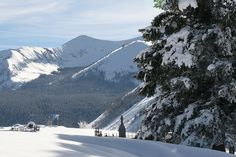 Crested Butte, Colorado  My favorite place to ski, so far. The views were beautiful.