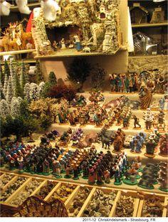 Christmas Market in Strasbourg, FR