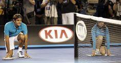 Roger Federer as a ballkid.  Australian Open Tennis 2013 - ausopen  #tennis  #ausopen #federer