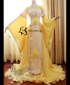 I love the Traditional Oriental Look! Does anyone know the Official name for this garment? Traditional Fashion, Traditional Dresses, Beautiful Gowns, Beautiful Outfits, Pretty Outfits, Pretty Dresses, Oriental Dress, Fantasy Gowns, Mein Style