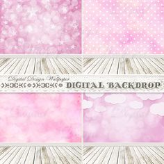 Digital BackdropNewborn BackdropPink Wall Digital